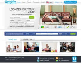 kosmografic tarafından Website Design for Tonybin (simple and cool designs wanted) için no 49
