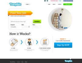 #118 для Website Design for Tonybin (simple and cool designs wanted) от stn50431