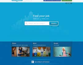 tuanrobo tarafından Website Design for Tonybin (simple and cool designs wanted) için no 123