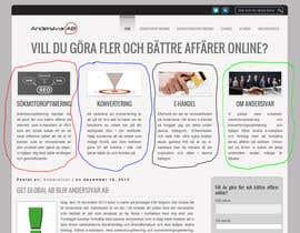 #2 para I need some Graphic Design for a website por Ponchu