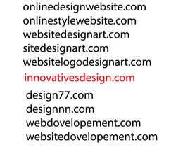 harshilchaudhary tarafından New Website Name idea (WebDesign) için no 5