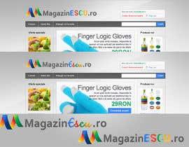 #76 para Design a Logo for MagazinEscu.ro por nepsguy