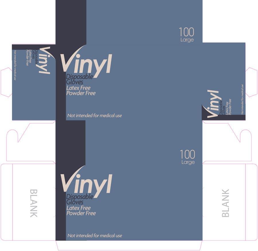 Inscrição nº 6 do Concurso para Packaging Design for Vinyl Disposable Gloves