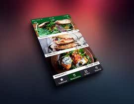 Nro 67 kilpailuun Design a mobile app UI käyttäjältä yoyojorjor