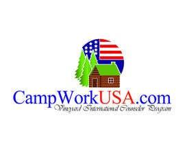 fireacefist tarafından Design a Logo for CampWorkUSA.com için no 70