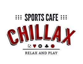 "#73 cho logo for a gaming pool sports cafe "" CHILLAX "" bởi MagdalenaJan"