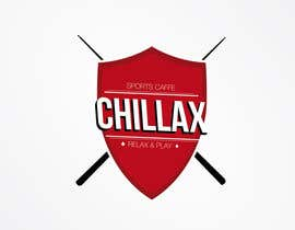 """#86 for logo for a gaming pool sports cafe """" CHILLAX """" by markonarvaez"""