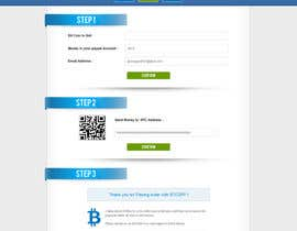 nº 35 pour Design a Website Mockup for BitCoin Website (One Page) par gravitygraphics7