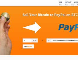 #36 for Design a Website Mockup for BitCoin Website (One Page) by sanaqila