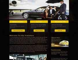 #35 para Design a Website Mockup for VIP Taxi Transfers por webidea12