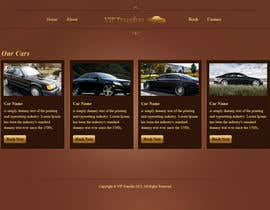 #25 para Design a Website Mockup for VIP Taxi Transfers por tania06