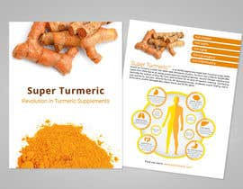 #7 for Make Mailer Sales Piece for Turmeric Supplement - Winner gets chance at more work! by archeo3d