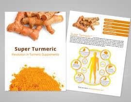 archeo3d tarafından Make Mailer Sales Piece for Turmeric Supplement - Winner gets chance at more work! için no 7