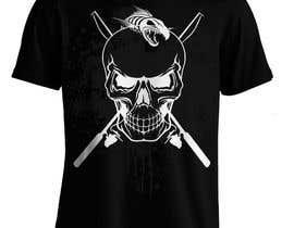 Nro 16 kilpailuun Design a skull/fishing T-Shirt käyttäjältä Bugz318