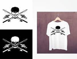 Nro 11 kilpailuun Design a skull/fishing T-Shirt käyttäjältä valgonx