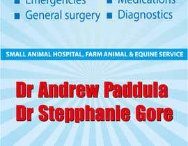 nº 34 pour Graphic Design for Bairnsdale Animal Hospital par wantnewjob