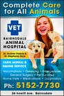 Graphic Design Конкурсная работа №45 для Graphic Design for Bairnsdale Animal Hospital