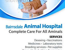 #27 para Graphic Design for Bairnsdale Animal Hospital por rum1delhi