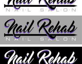 Nro 21 kilpailuun nail salon logo käyttäjältä ebgraphic