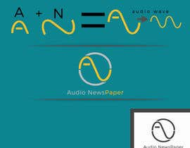 Nro 8 kilpailuun Audio NewsPaper: Professional logo designer   Contest -- 1 käyttäjältä hics