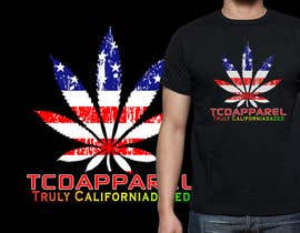 nº 27 pour TCDapparel American Flag design par Othello1