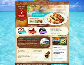 #31 for Web site mockup for restaurant and bar ( small site ) af alpyraj81