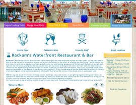 #39 for Web site mockup for restaurant and bar ( small site ) af nupurghosh2