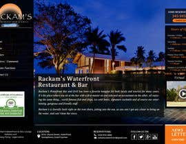 #18 for Web site mockup for restaurant and bar ( small site ) by Psynsation