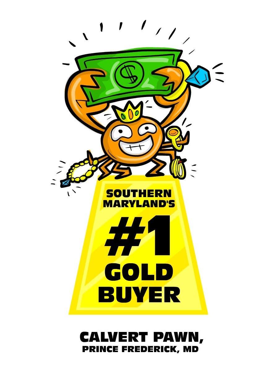 Kilpailutyö #                                        10                                      kilpailussa                                         Graphic Design for Calvert Pawn LLC