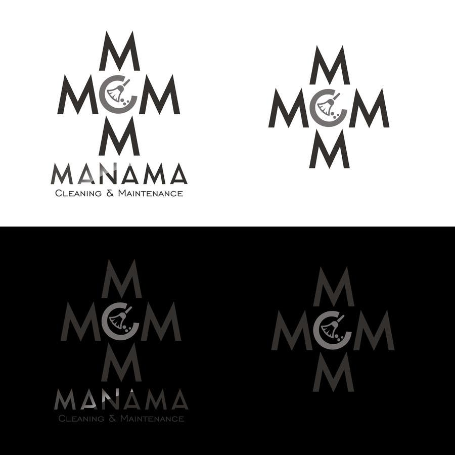 Kilpailutyö #67 kilpailussa Design a Logo for Manama Cleaning & Maintenance Company