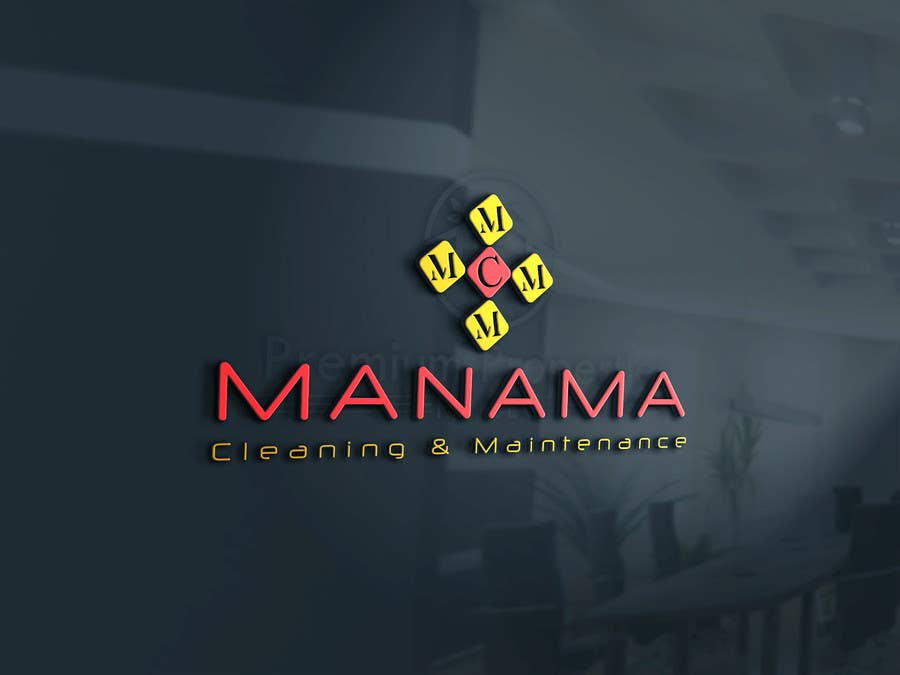 Kilpailutyö #87 kilpailussa Design a Logo for Manama Cleaning & Maintenance Company