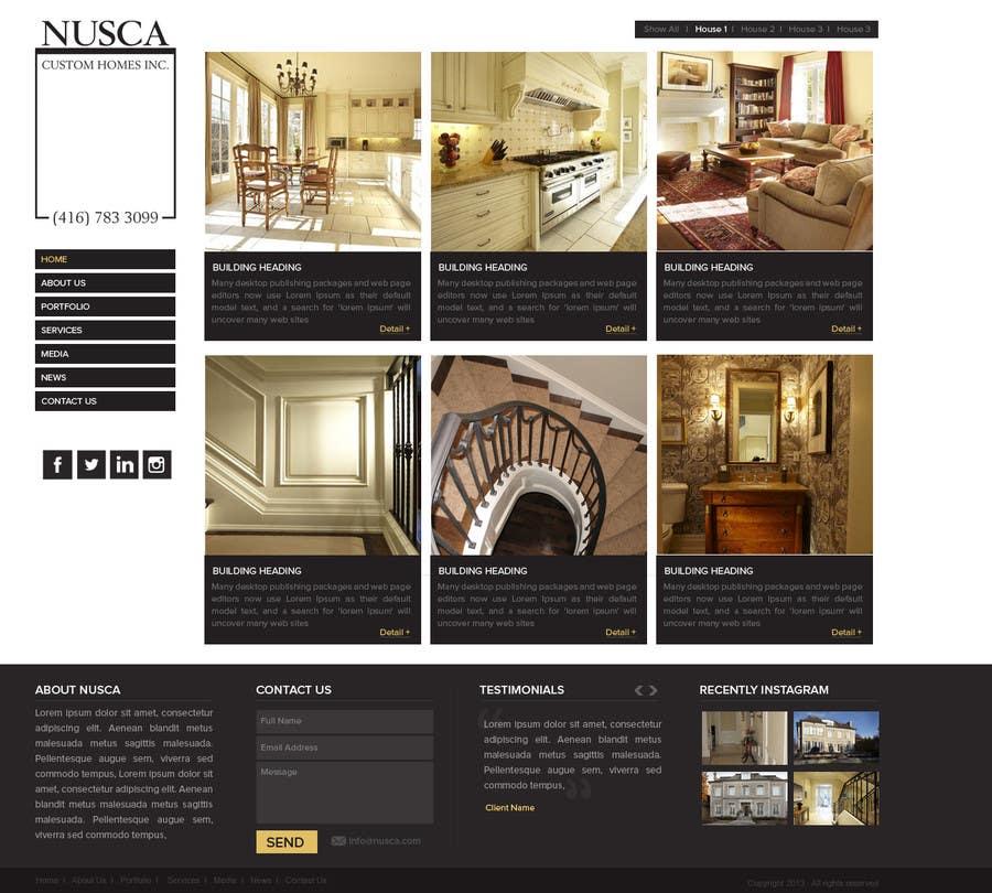 Inscrição nº 13 do Concurso para Custom Portfolio Website Design