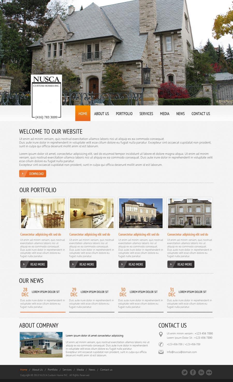 #43 for Custom Portfolio Website Design by kreativeminds