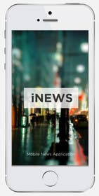 #10 for Design the User interface for a Mobile News App by cihangir