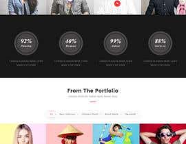 Nro 7 kilpailuun Design a Website Mockup käyttäjältä sudeshna454