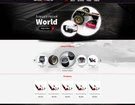 #36 untuk Create a logo and website design for www.simulxtreme.com oleh tania06