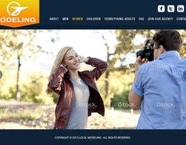 #23 para Design a Website for a Local Acting/Modeling Agency por Genshanks