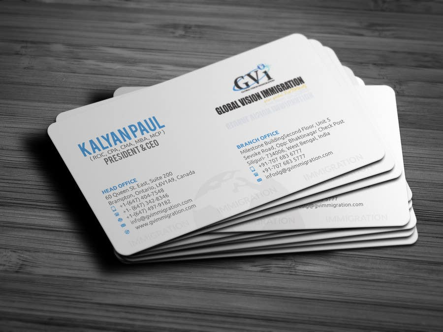 Entry #51 by islamrobi714 for Design some Business Cards | Freelancer