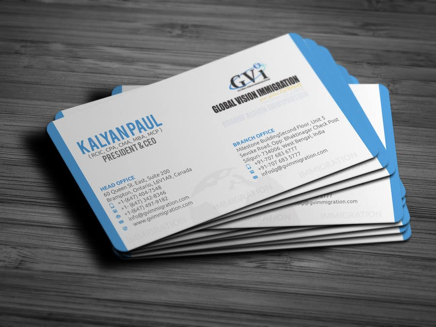 Entry #52 by islamrobi714 for Design some Business Cards | Freelancer