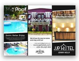 Nro 4 kilpailuun Design a Brochure for elegant Hotel käyttäjältä samdchaloner