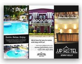 Nro 8 kilpailuun Design a Brochure for elegant Hotel käyttäjältä samdchaloner