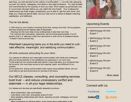 #9 untuk Design a Website Mockup for small biz seeking Fortune 500 clients oleh Ankur0312