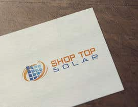 #203 for Design a Logo for Shop Top Solar by Moonlightcse