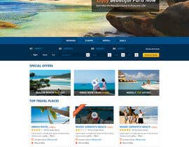 #2 untuk Design a Website Mockup for adventure travel booking website oleh mytuny