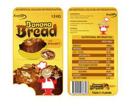 #115 pentru Banana bread packaging label design de către creationz2011