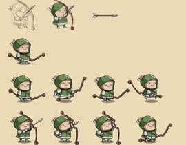 #10 for 2D Game Character design with sprite animations by BuiNhatVi