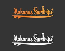 #7 for Design a logo - Surftrip business  (Makanas Surftrips) / Surfing by AzizNart