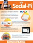 #41 for 48 Hour Design Flyer for Social Wi-fi by karunrams