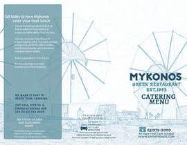 #15 for Design a Catering Menu for Mykonos Greek Restaurant by marcia2