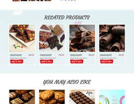 webmastersud tarafından Design creative website mock up for a snacks shop için no 49